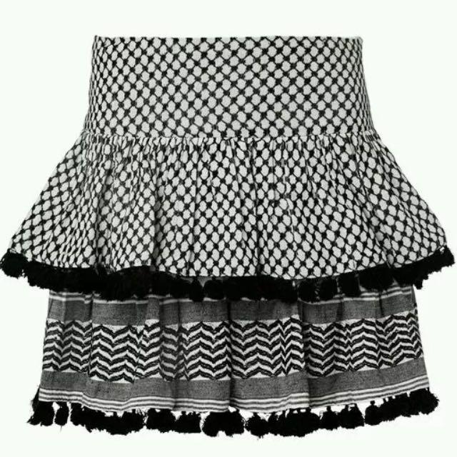 Seed Heritage Pattern Tassel Skirt 8