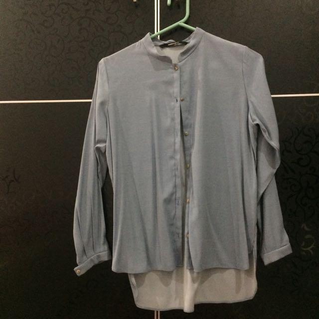 Shopatvelvet Blue Shirt