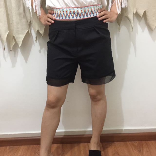 Shortpants BLACK