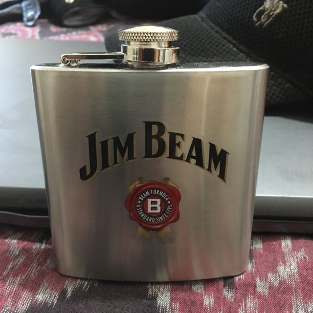 Steel Hip Flask