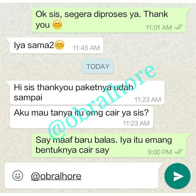 Testimony from Our Customer