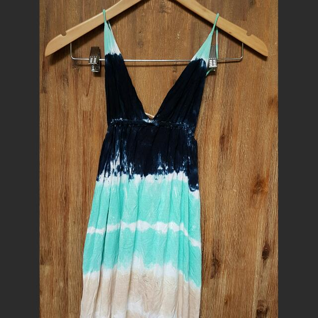 Tie Dye Maxi Dress Size S