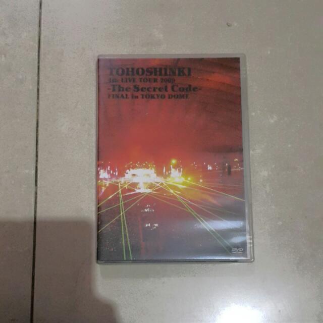 Tohoshinki /Dbsk Secret Code Concert Final In Tokyo Dome