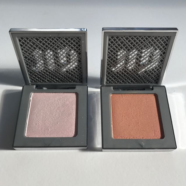 URBAN DECAY After Glow 8 Hr Powder Highlighter X 2 Shades 'Fireball' And 'Aura'
