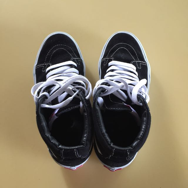 Vans Skate Hi Black/White