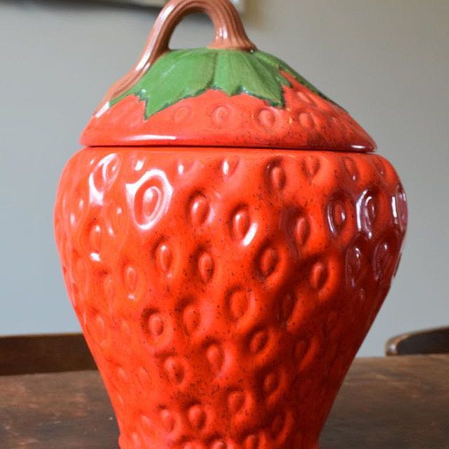 Vintage Ceramic Cookie Jar