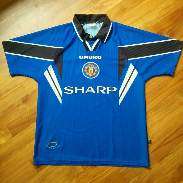Vintage Manchester United 97 98 Third Jersey Sports Sports Apparel On Carousell