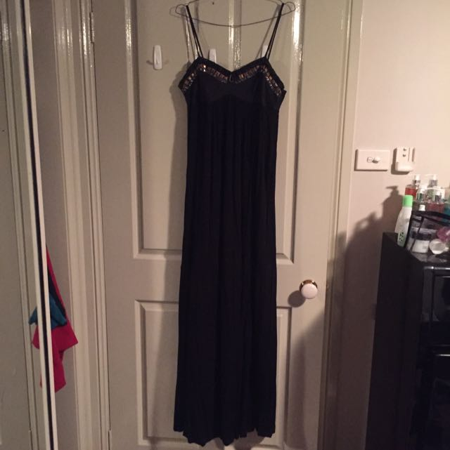 Wish Black Maxi Dress