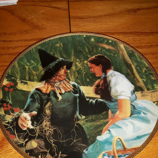 Wizard Of Oz Plates