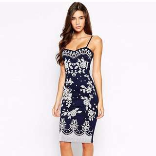 #598 Sexy Floral Sweetheart Neckline Cocktail Dress