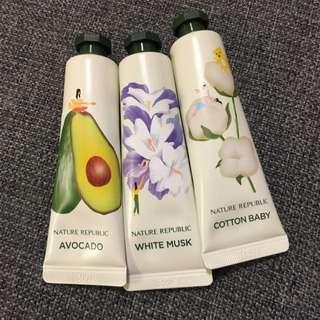 Nature republic hand lotion