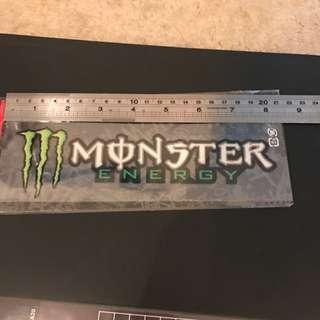 Monster 返貼貼紙全新發售適用於汽車或其他產品如滑板電腦等, car sticker for all surface