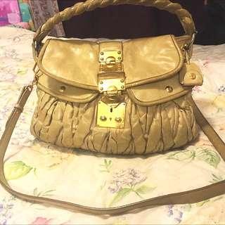 Miu Miu Large Matelasse Bag Genuine