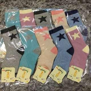 🚚 🍒(現貨)星星棉襪