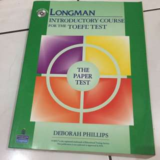 TOEFL TEST LONGMAN PEARSON