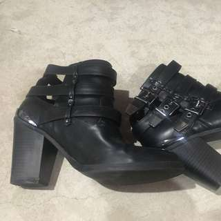 Call It Spring Cut Out Boots 8.5