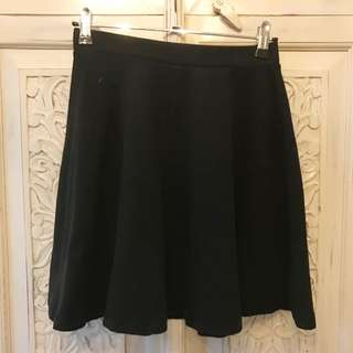 Top shop Black High waisted Skirt!