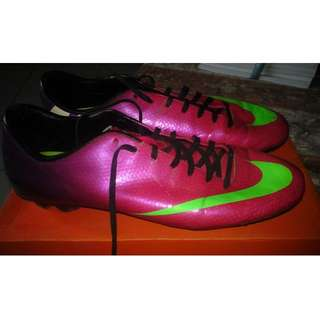 Nike Mercurial and Adidas F30