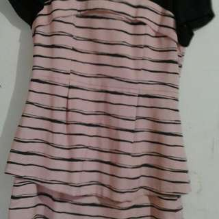 Mini Sackdress Ruffles Bottom, Selutut