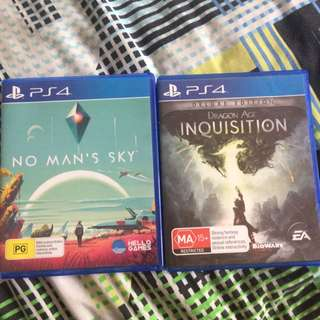 No Mans Sky And Dragon Age Inquisition