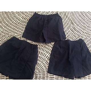 Reduced!!! Blue Skort (3 x $5)