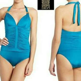 Halter Biba Roached Swim Wear