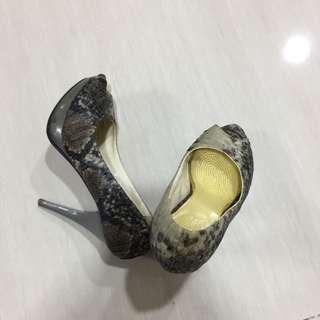 Karen N Chloe Snake Heels