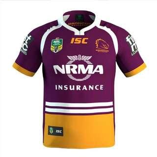 Brisbane Broncos Jersey 2017 XXL