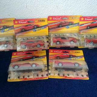 Ferrari Shell Complete Collection In Original Box