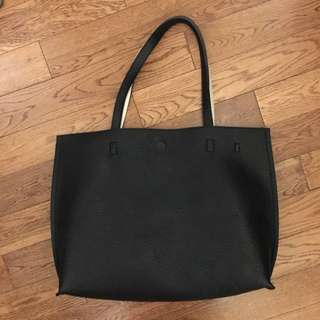 Urban Outfitters Reversible Pleather Tote Bag
