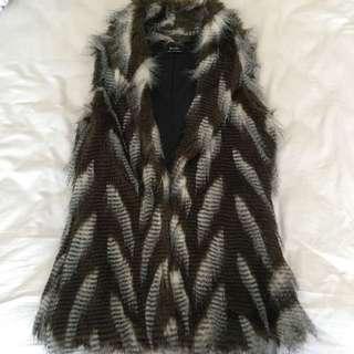 Bardot Faux Fur Vest