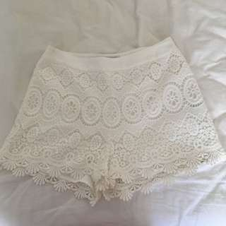 Forever New Lace Shorts