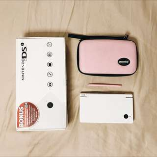 White Nintendo DSi Pack