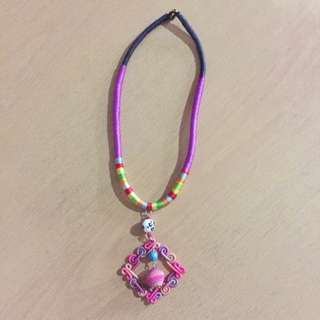 Preloved Colorful Necklace
