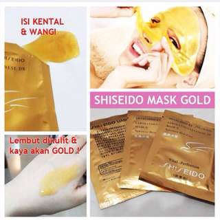 Masker shiseido/masker naturgo ORIGINAL