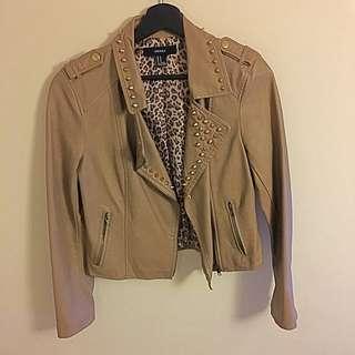 FXXI Studded Leather Jacket