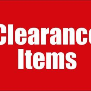 clearence item
