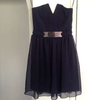 Brand New! Navy Blue ASOS dress