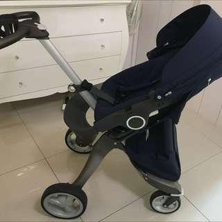 轉賣九成新Stooke Xplory 嬰兒車