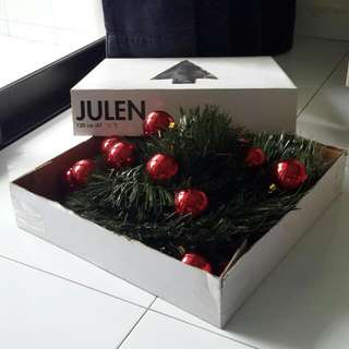 Free! Ikea Artificial Julen Christmas Tree, 120cm, Easy To Set Up In A Few Minutes.