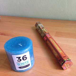 Scented Candle, Egyptian Incense For Free With Any Purchase!