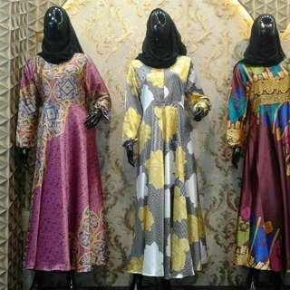 Gamis Berbahan Silk