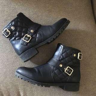 Black Boots, Size 38