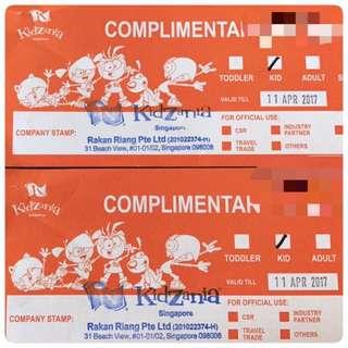 Kidzania Kids Ticket