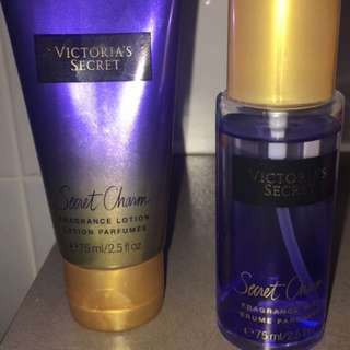 Victoria Secret Body Mist And Lotion