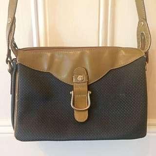 Vintage Toledano Leather Handbag