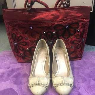 Celine Beige Shoes Size 6
