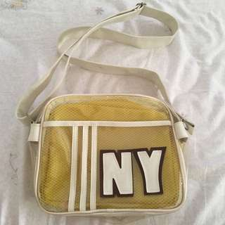 Yellow NY Shoulder Bag