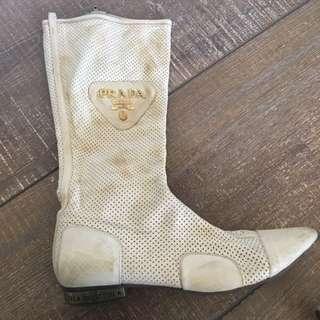 Prada Boots, Leather - Replica