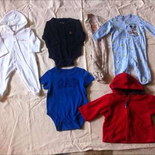 0-3mos Infant Clothes For Boy